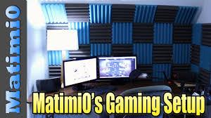 matimi0 u0027s gaming setup room tour youtube