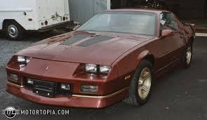 1989 chevy camaro iroc 1989 chevrolet camaro iroc z id 4530