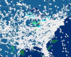 Flightaware Misery Map All Flights In And Out Of Chicago Halt After Fire At Air Traffic