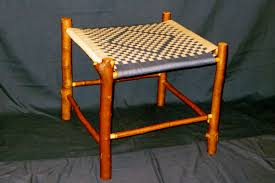 native twig furniture benches