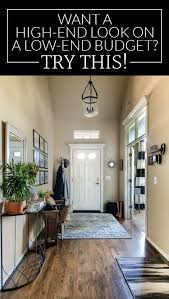 get a high end look for less entryway makeover polished habitat