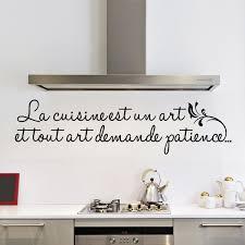 stickers pour la cuisine sticker la cuisine est un stickers citations français