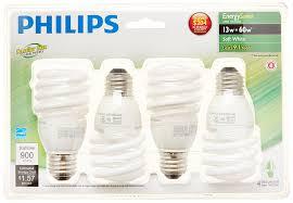 philips 417071 energy saver compact fluorescent 13 watt t2 soft