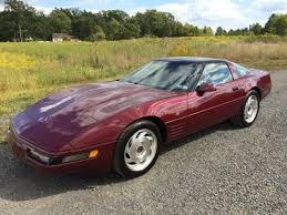 1993 corvette 40th anniversary chevrolet corvette coupe 1993 ruby metallic for sale
