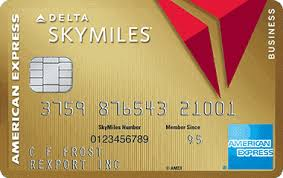 Business Card Credit Gold Delta Skymiles Card American Express Open