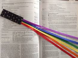 ribbon bookmarks multi page 6 ribbon bookmark for bible hymnal hardcover book