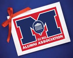 ole miss alumni sticker gift membership