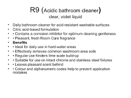 Acid For Bathroom Cleaning Taski Product Cleaning Agent