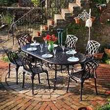 wrought iron patio set home design by fuller