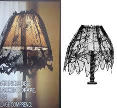 1 piece black lace spiderweb fireplace halloween decoration mantle