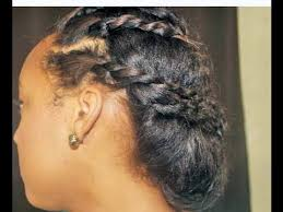 Protective Styles For Short Transitioning Hair - transitioning hairstyles for short hair youtu tuny