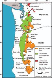 Map Of Western Oregon by Geology Of The Central Oregon Cascades U2013 In The Playground Of Giants