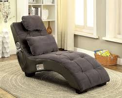 gray two tone lounge chair bluetooth speakers pillow game