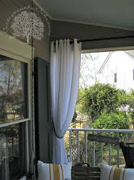 Best Fabric For Curtains Inspiration Cool Outdoor Fabric Curtains Inspiration With Add A Pretty Privacy