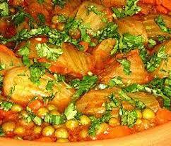 de cuisine arabe tajine de fenouils et petits pois recette de cuisine algerienne