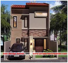 desain rumah lebar 6 meter desain rumah minimalis 2 lantai di semarang