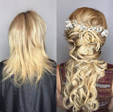 bridal hair extensions hair extensions types to lengthen hair ag miami salon