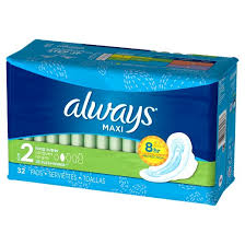 Most Comfortable Maxi Pads Always Maxi Size 2 Long Super Pads With Wings Unscented Target