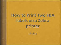 dymo labelwriter 4xl thermal label printer amazon black friday deals how to print two fba labels on a zebra printer youtube