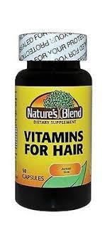 vitamins for hair over 50 nature s blend vitamins for hair 50 capsules drugsupplystore com
