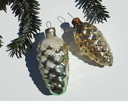 pinecone ornament etsy