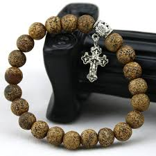 catholic bracelets catholic bracelets 8mm the bark onyx bracelet cross