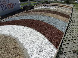 Colored Rocks For Garden Shocking Ideas Colored Landscaping Rocks For Gardening Design
