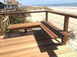 wait bench ipe wood bench how long should i wait before installing my decking