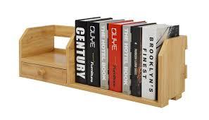 Modern Desk Organizers by Amazon Com Bestwoo Wooden Desktop Bookshelf Organizer Storage