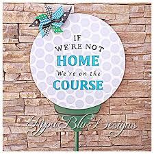 golf door hanger golf yard stake golf lawn ornament golf wreath