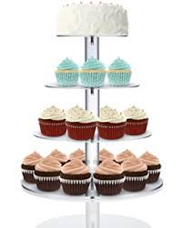 cupcake and cake stand utenlid 4 tier stacked party cupcake and dessert tower