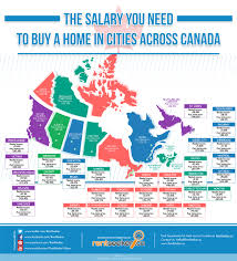 Home Decor Blogs Canada by Blog Salary Required To Live In Certain Cities In Canada