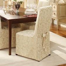sure fit parsons chair slipcovers sure fit scroll dining room chair cover chaign surefit http