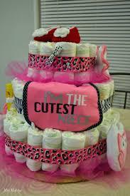 animal print diaper cake mrs mahiya