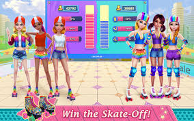 roller skating girls dance on wheels android apps on google play