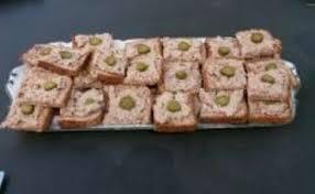 recettes de canapés et de thon