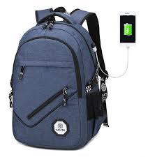 Aolida brand backpack men women oxford bag backpacks travel usb