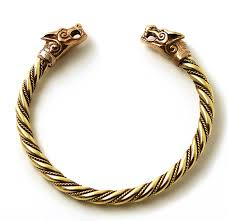 thanksgiving story bracelet poem amazon com bronze norse viking fenrir wolf head twisted cable