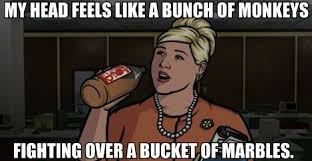Sterling Archer Meme - it s the archer quote down pam poovey archer quotes sterling