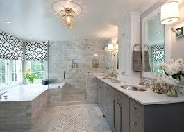 Charcoal Gray Bathroom Cabinets Design Ideas - White cabinets master bathroom
