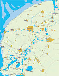nijkerk netherlands map map of the frisian lake district in the netherlands routes