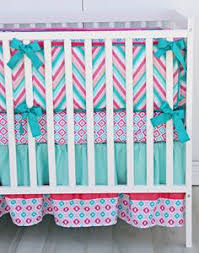 Pink Chevron Crib Bedding The Peanut Shell Indio 4 Crib Bedding Set Babies