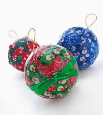 easy fabric decoupage ornaments favecrafts
