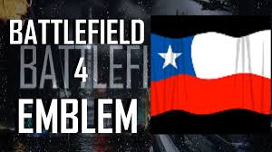 Texas Flag And Chile Flag Battlefield 4 Bf4 Chile Flag Emblem Tutorial Youtube