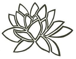 water lily png black and white transparent png images pluspng