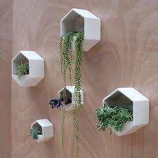 planters that hang on the wall wall mount plant holder terrarium design wall mounted plant pots