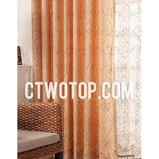 Orange Patterned Curtains Emejing Orange Patterned Curtains Contemporary Design Ideas 2017