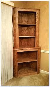 Espresso Corner Bookcase Espresso Corner Shelves Narrow Corner Bookcase Design