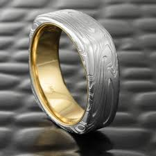damascus steel wedding band damascus steel rings mokume gane wedding bands handmade jewelry