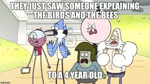 Funny Regular Show Memes - she s too young you clownraiser imgflip